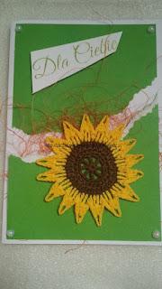 Kwiatowa wymianka kartkowa u Lidki