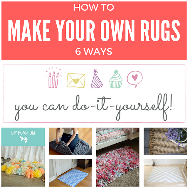 6 DIY original rugs