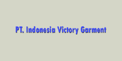Lowongan Kerja Operator Produksi Purwakarta PT. Indonesia Victory Garment