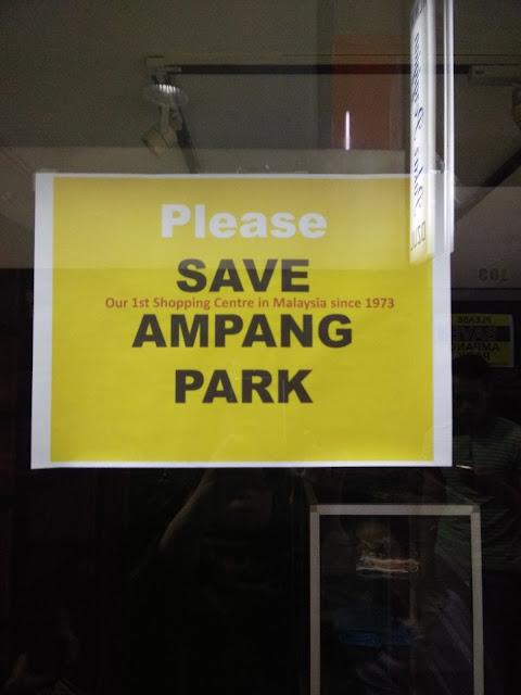 Melawat Ampang Park Yang Penuh Kenangan