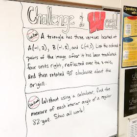 https://www.teacherspayteachers.com/Product/Challenge-of-the-Week-6th-Grade-Math-1904489