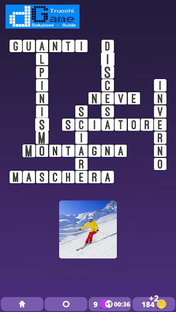 Soluzioni One Clue Crossword livello 3 schema 6 (Cruciverba illustrato)  | Parole e foto