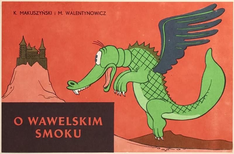 Znalezione obrazy dla zapytania Kornel Makuszyński  Marian Walentynowicz  : O wawelskim smoku