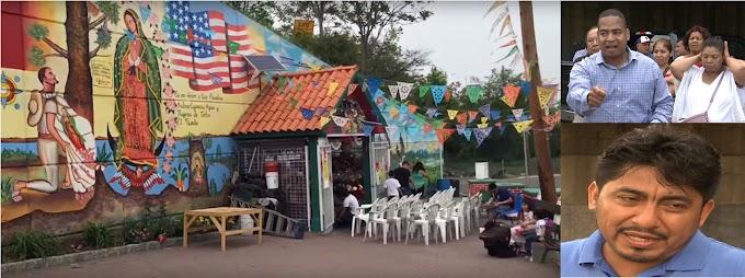 Mexicanos en Nueva Jersey se prenden contra alcalde dominicano por borrar mural de la Virgen de Guadalupe