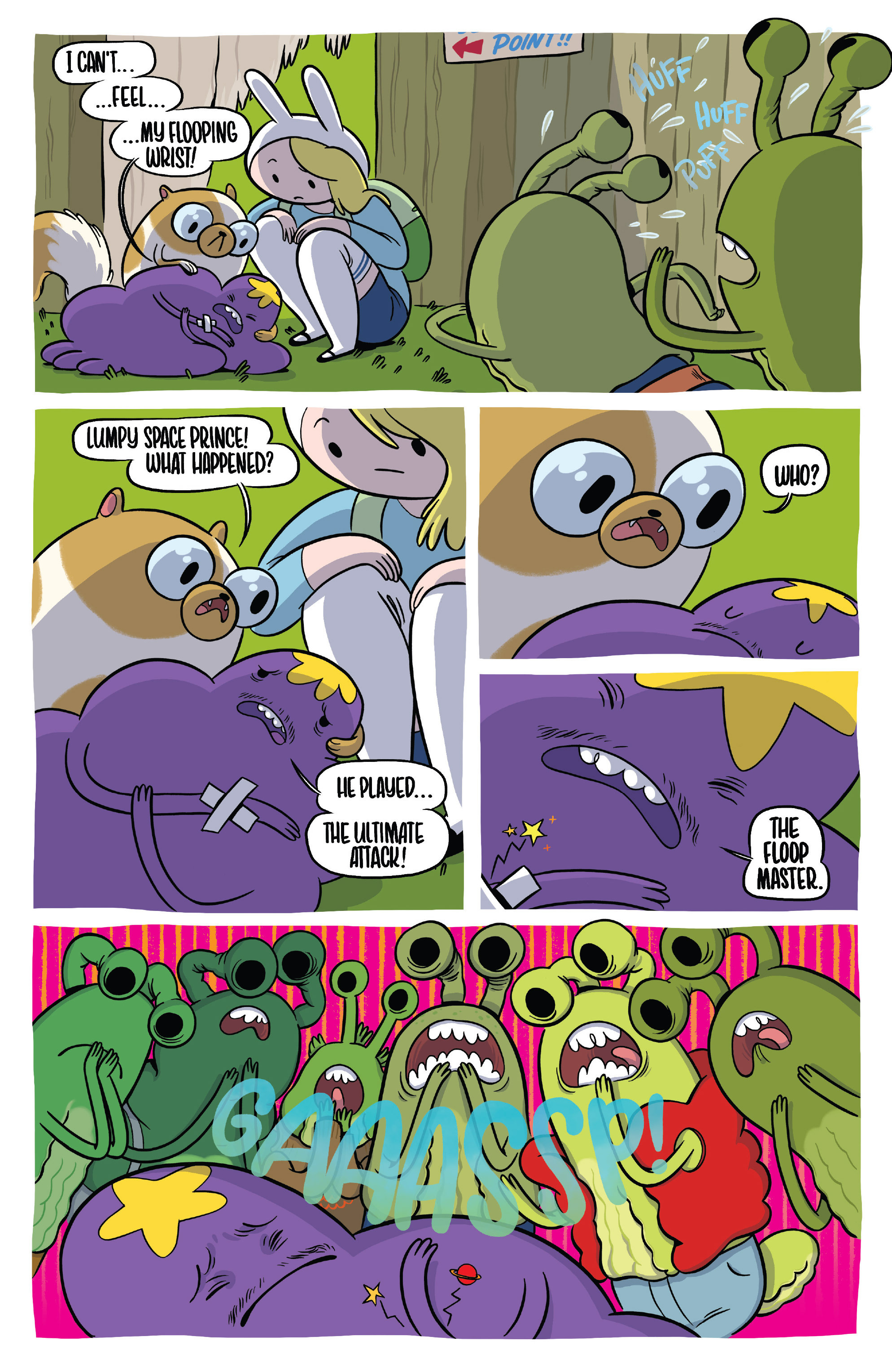 Read online Adventure Time Fionna and Cake Card Wars comic -  Issue #1 - 22