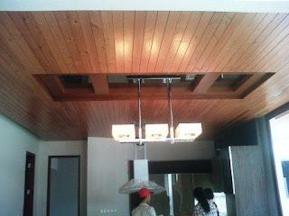 plafon lumbershiring kayu