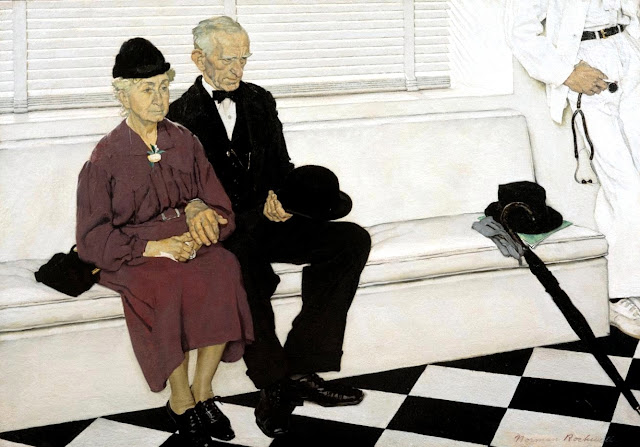 Second Holiday - Norman Rockwell