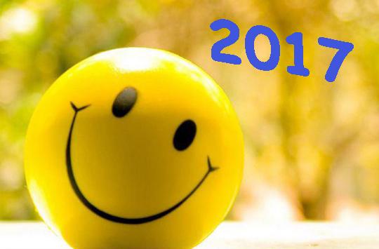 O sorriso do Ano Novo