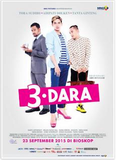 Download Film 3 Dara Bluray Full Movie Indonesia (2015)