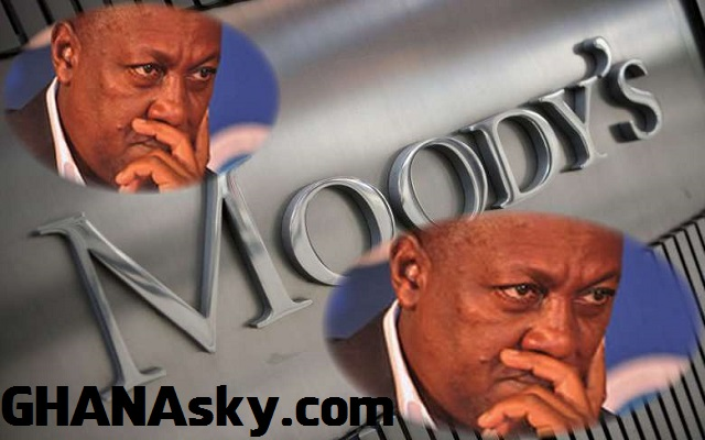 Moody's Ranked for Ghana was applied & partial info by Prez. Mahama