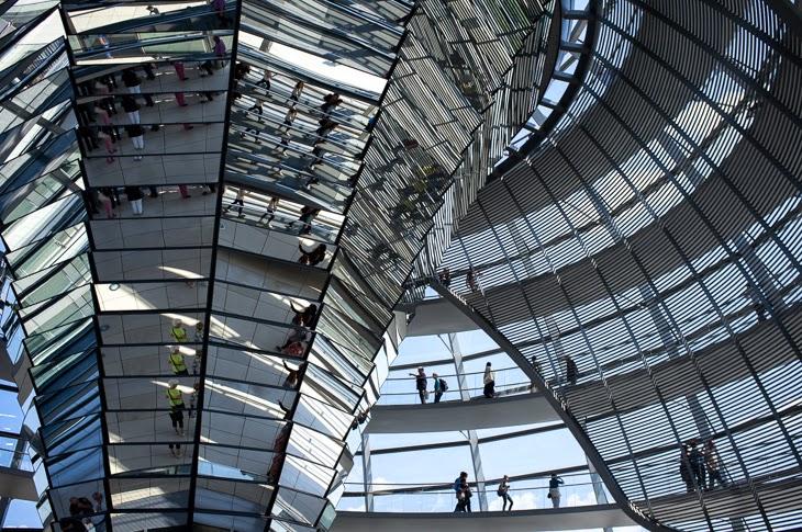 Passagem Gastronômica - German Bundestag - Berlim - Alemanha
