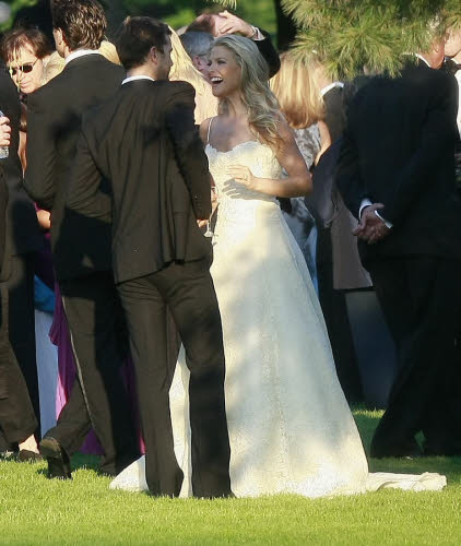 Red Carpet Wedding: Ali Larter and Hayes MacArthur - Red ...