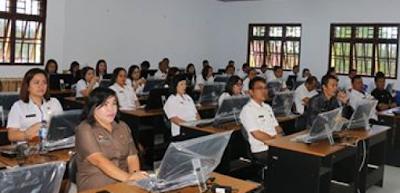 Tingkatkan Keahlian ASN, Pemkot Tomohon Lakukan Pelatihan