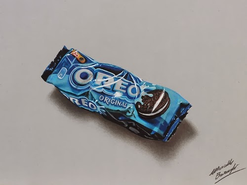 01-Oreos-Graphic-Designer-Illustrator-Marcello-Barenghi-Hyper-Realistic-Every-Day-Items-www-designstack-co