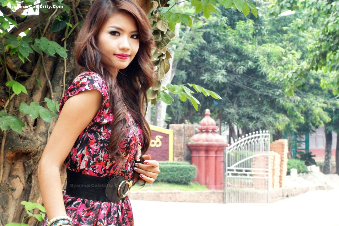 Photo Model Myanmar New Face Model Girl, Babe Maung-9884