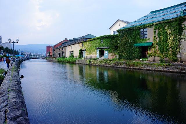Indahnya Kanal Otaru, Pelabuhan Klasik yang Jadi Situs Budaya