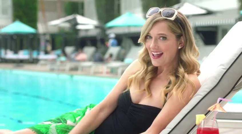 Judy Greer Teams Up with Visa and The Hilton In 3 New Ads