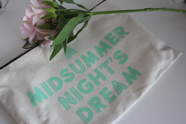 Selfridges Exclusive Summer Beauty Box Alphabet Bag
