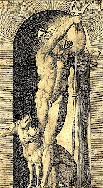 Giovanni Jacopo Caraglio - Plutone e Cerbero - dream men