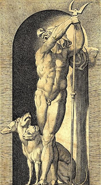 Giovanni Jacopo Caraglio - Plutone e Cerbero - dream men
