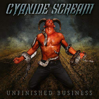 "Το τραγούδι των Cyanide Scream ""Now or never"" από το album ""Unfinished Business"""