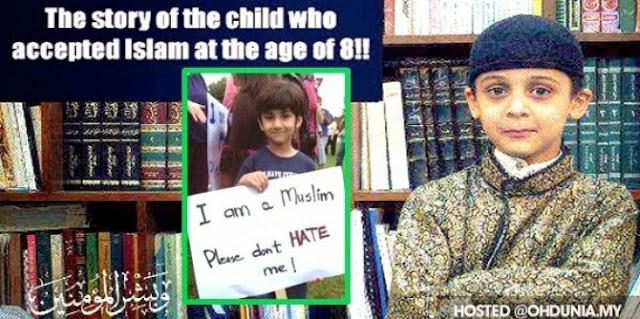 Kisah Seorang Anak Muslim di Amerika yang Bisa Membuat Muslim Lainnya Malu.