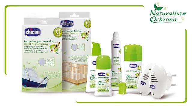 ochrona przed komarami, chicco, komary, komar, meszki, kleszcze