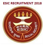 ESIC IMO Recruitment 2018