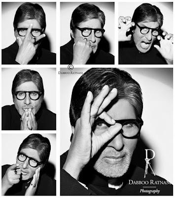 Amitabh Bachchan shoot for Dabboo Ratnani 2016 Calendar
