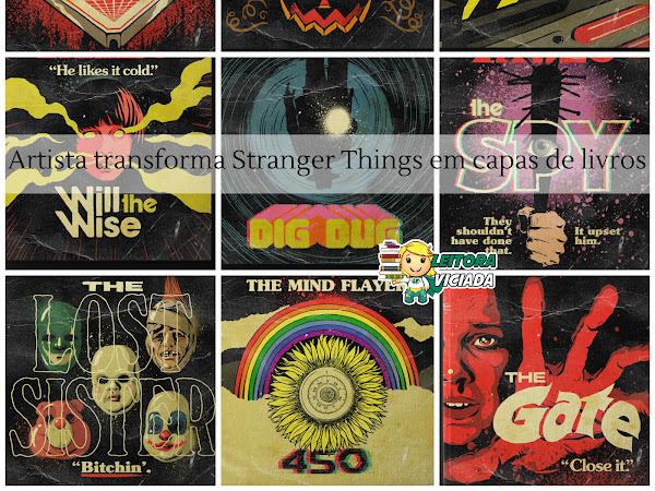 Stranger Tales 2: Ilustrador transforma episódios de Stranger Things 2 em capas de livros