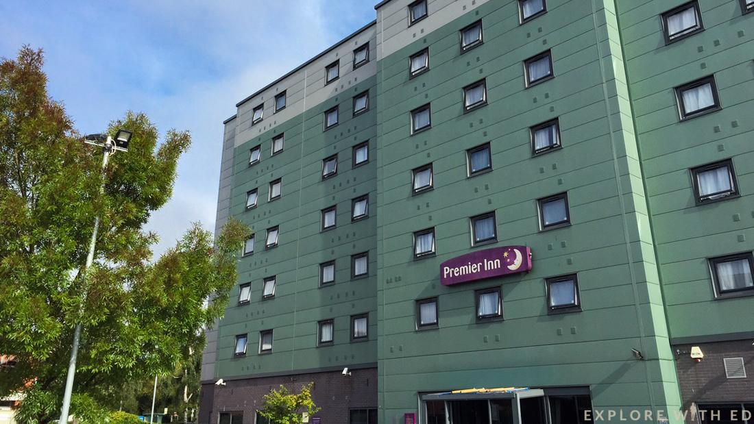 Premier Inn, Exterior, Hotel, Borehamwood