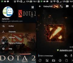 Download BBM Mod Dota 2 Apk Terbaru Gratis 2107