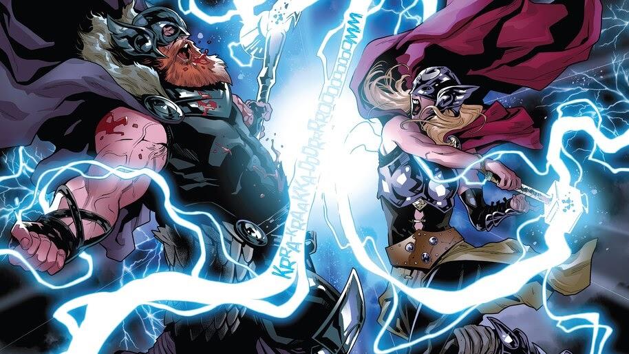 Thor, Jane Foster, Marvel, Comics, 4K, #4.2914