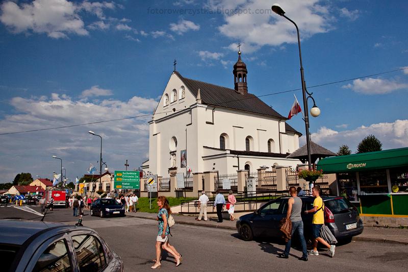 Nowa Słupia,świętokrzyskie,Świętokrzyski Park Narodowy,kościół świętego Wawrzyńca