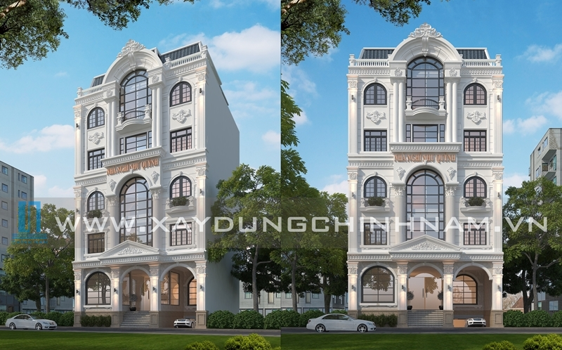 Thiết kế xây dựng nhà nghỉ Như Quỳnh