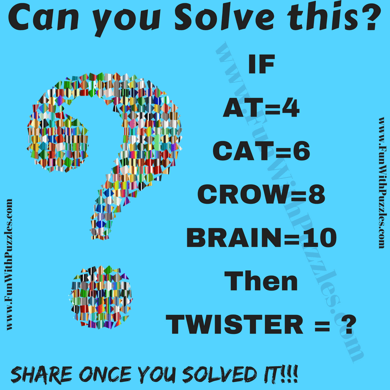 Math Puzzle For College Students With Answers