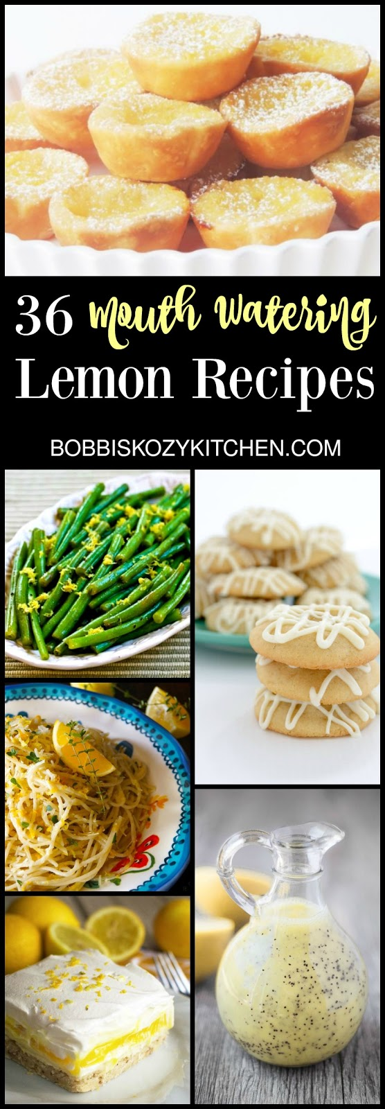 36 Mouth Watering Lemon Recipes from www.bobbiskozykitchen.com