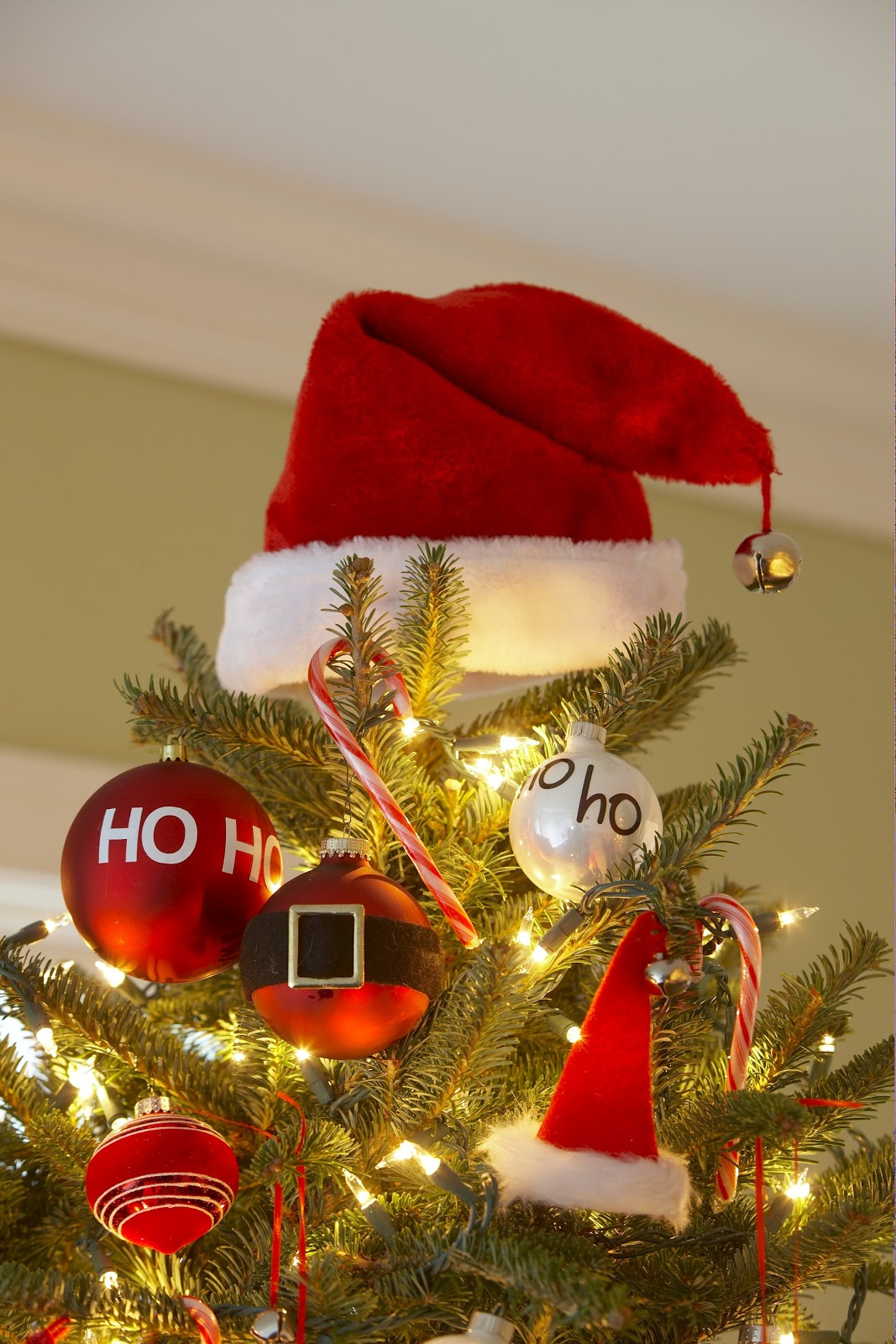 Karin Lidbeck 24 Day Countdown Santa Tree And Ornaments