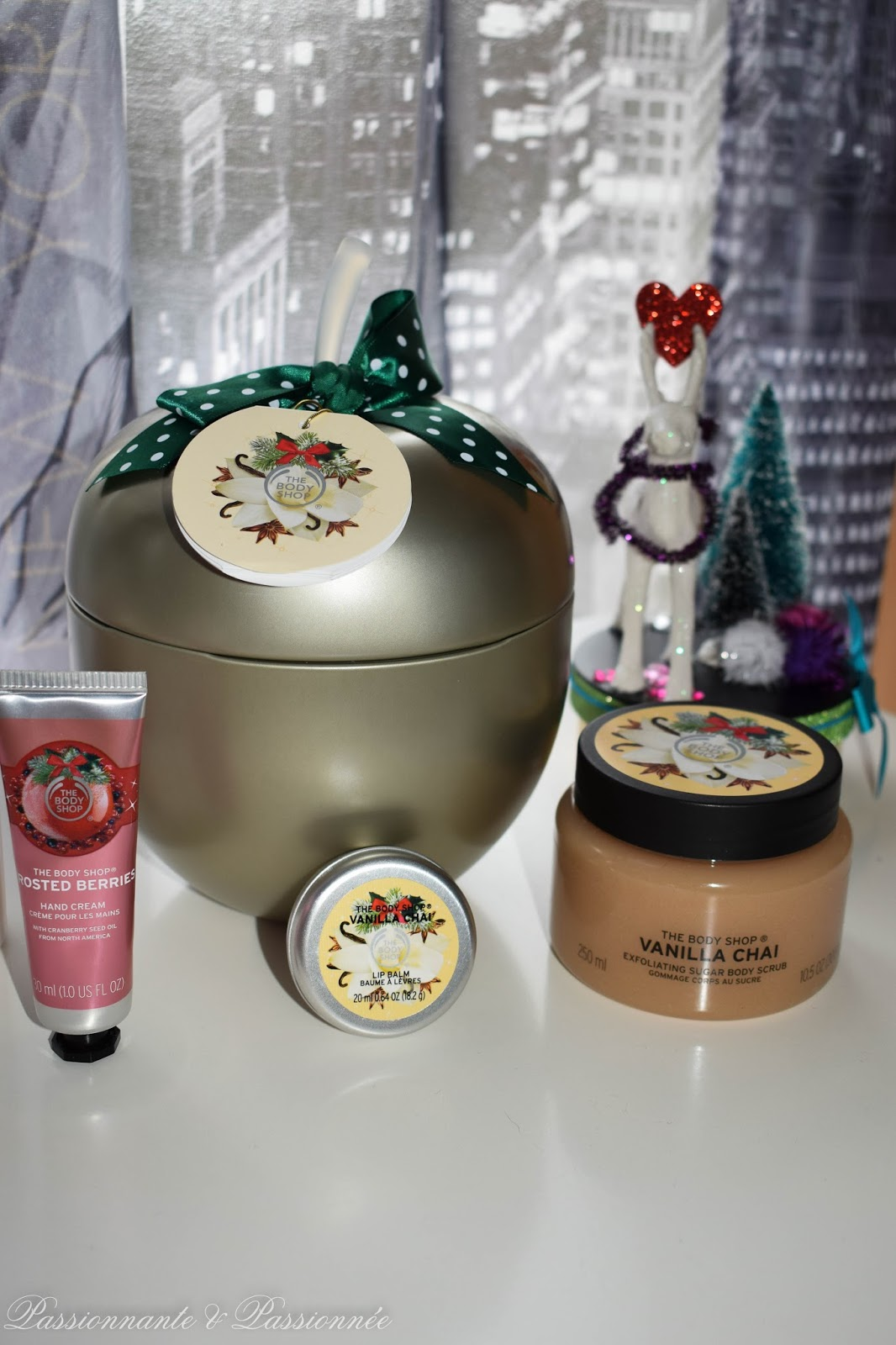 collection noël the body shop