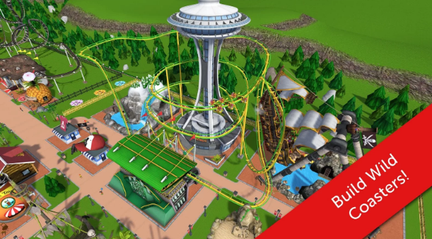 RollerCoaster Tycoon Touch Hack Mod APK Android