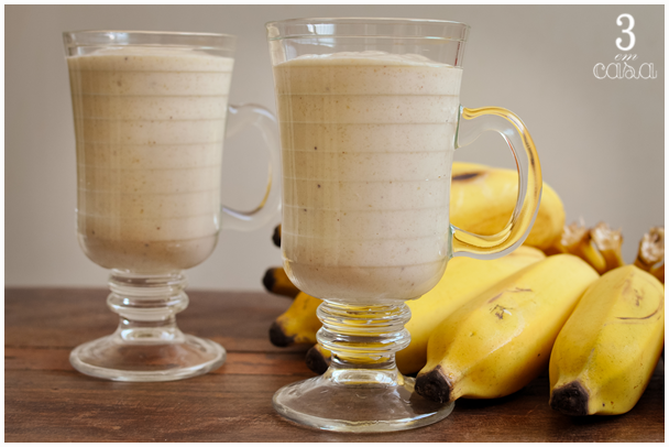 receita smoothie banana
