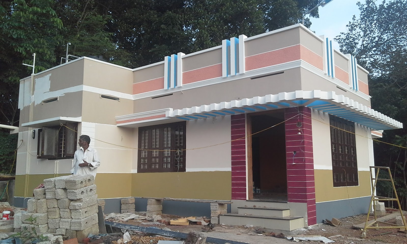 Kerala house construction tips 12 painting - Tips for building a new home ...