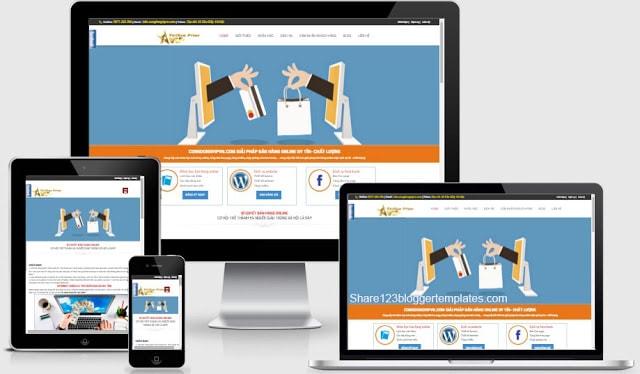 Template blogspot dịch vụ giới thiệu sản phẩm