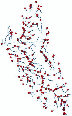 Vértices convertidos en puntos