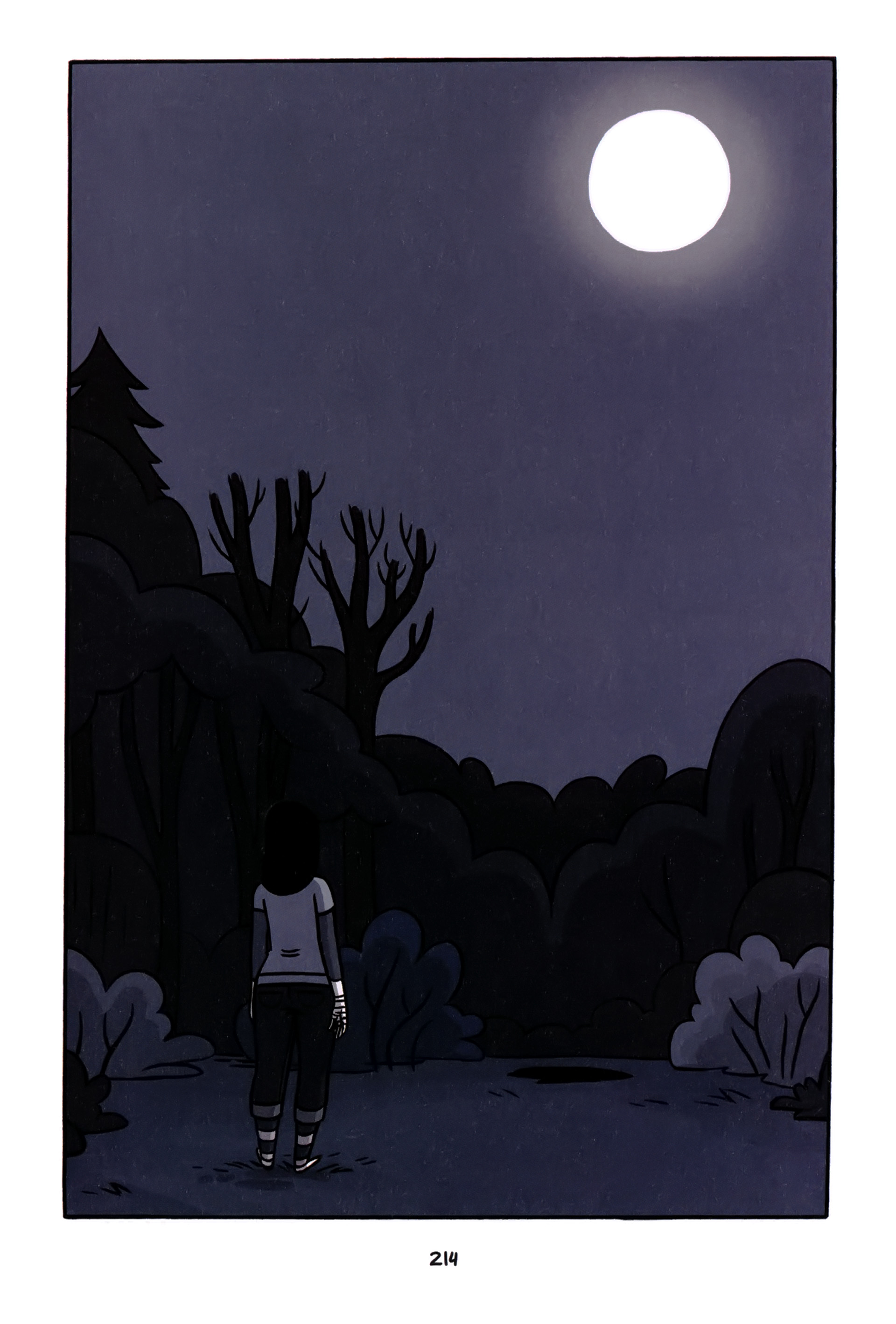 Read online Anya's Ghost comic -  Issue #1 - 215