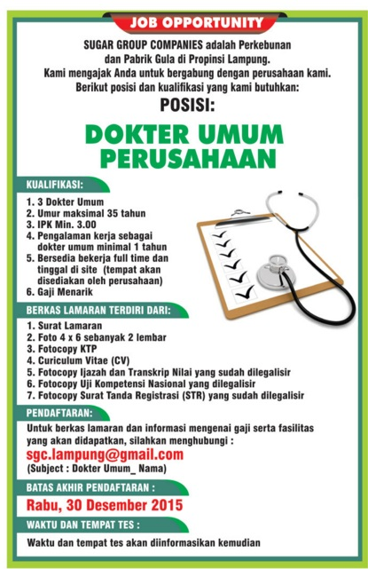 Lowongan Kerja Lampung Sugar Group Companies