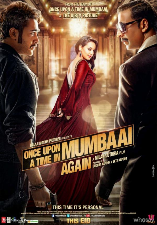 Once Upon A Time In Mumbai Again First Look Poster