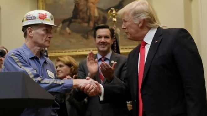 Trump to sweep away Obama climate change policies