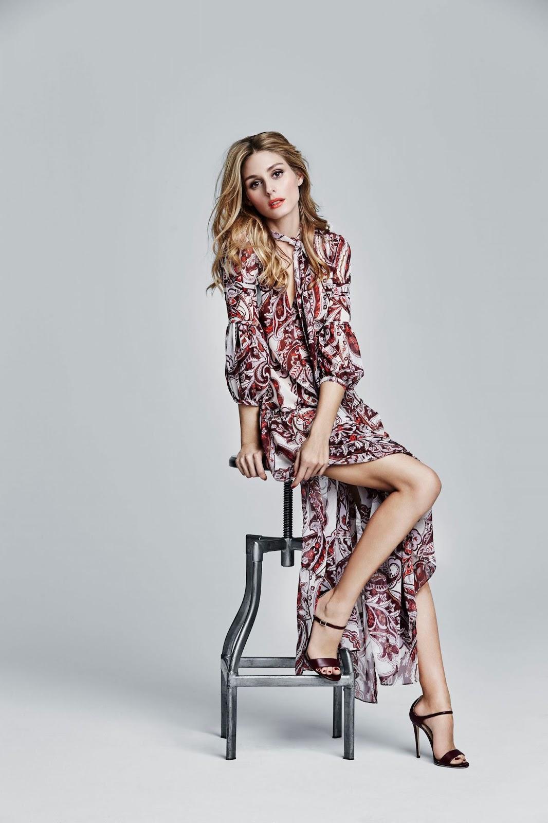 Olivia Palermo In Fashion Magazine March 2016 By Gabor Jurina