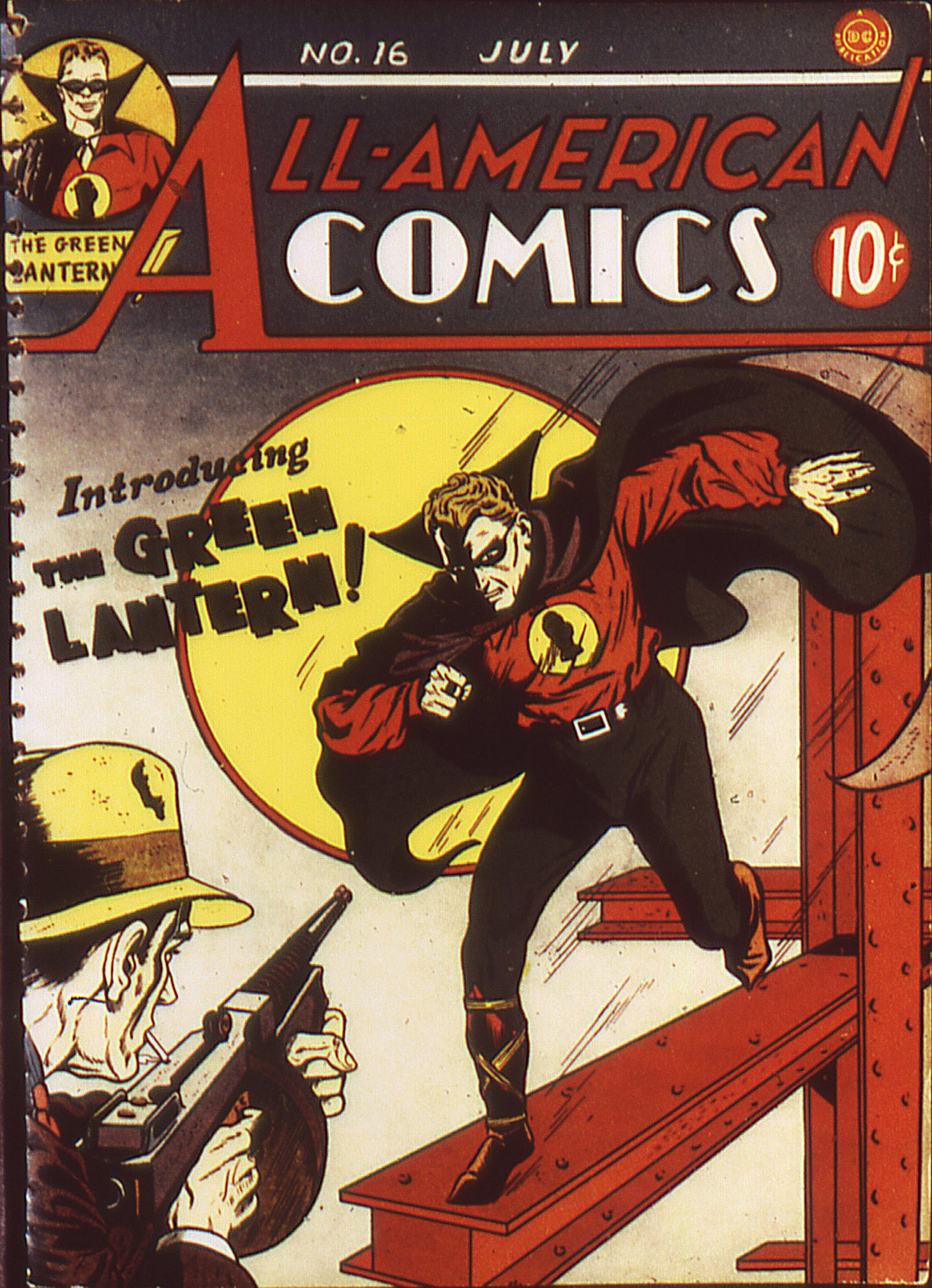 Read online All-American Comics (1939) comic -  Issue #16 - 1
